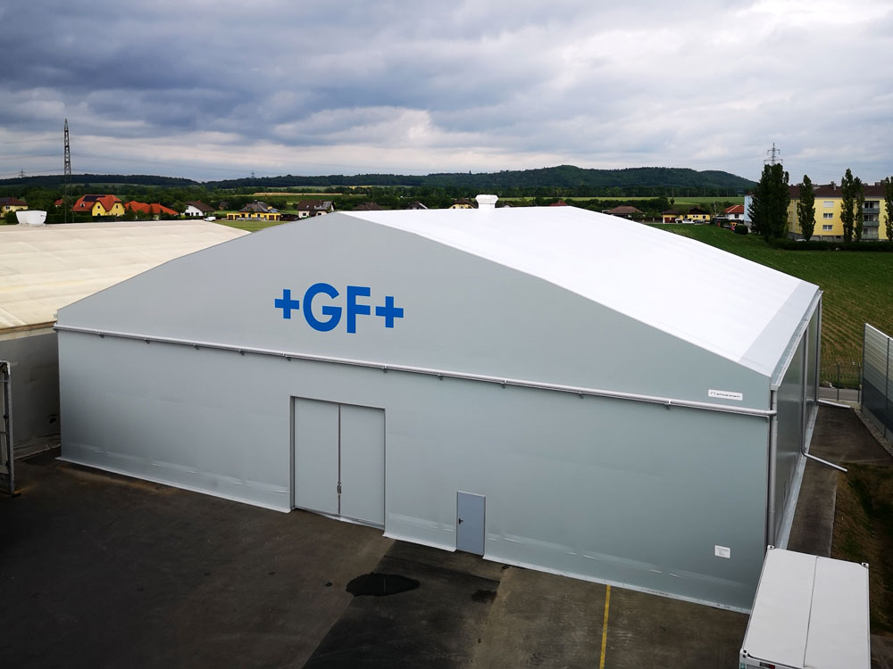 Fabric structure warehouse GF Casting
