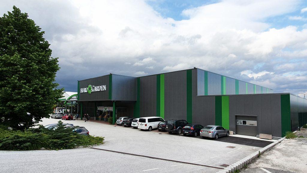 Prenovljen vrtni center Eurogarden spomladi 2020