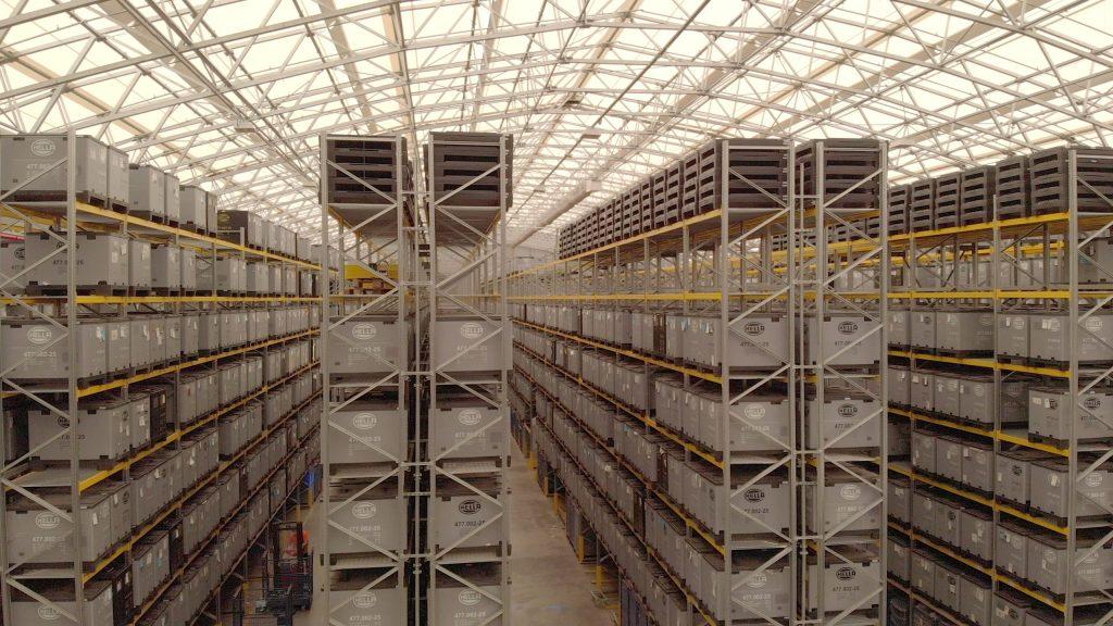 skladišče izdelkov - optimizacija skladiščenja