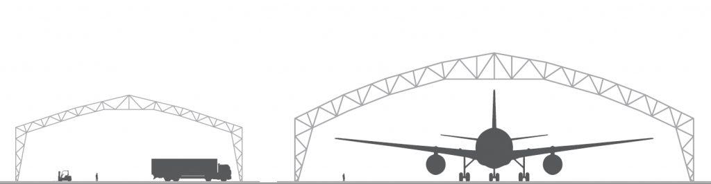 Šotorske hale konstrukcija