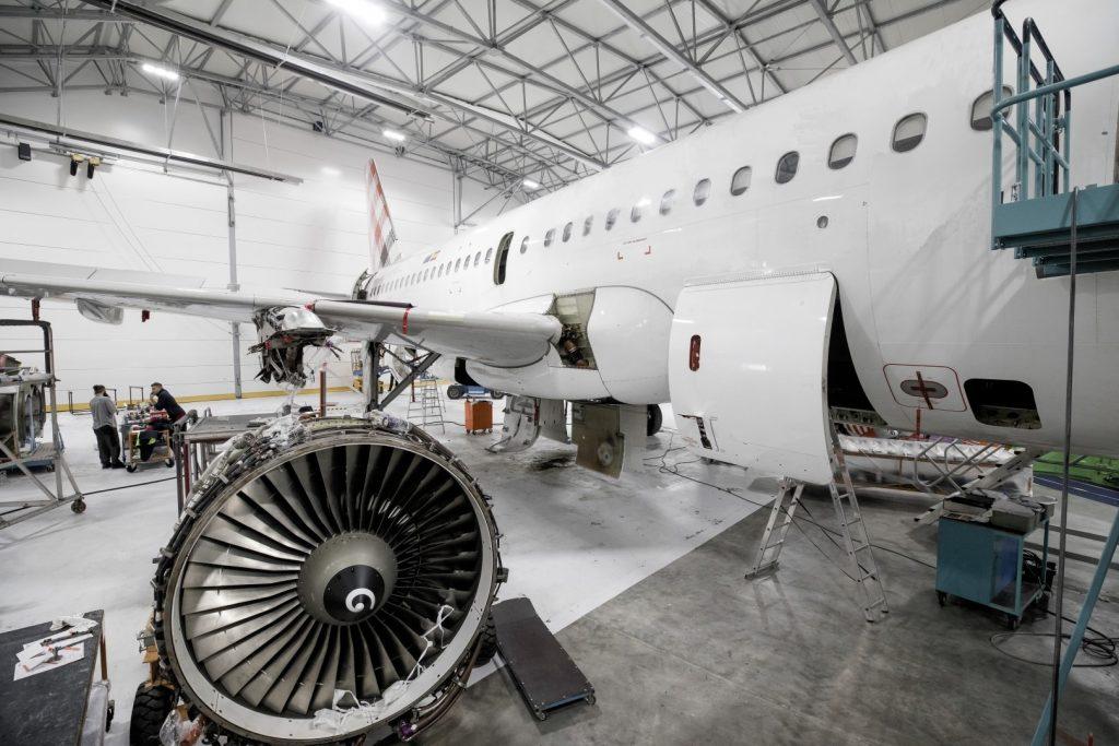 MRO aircraft hangar