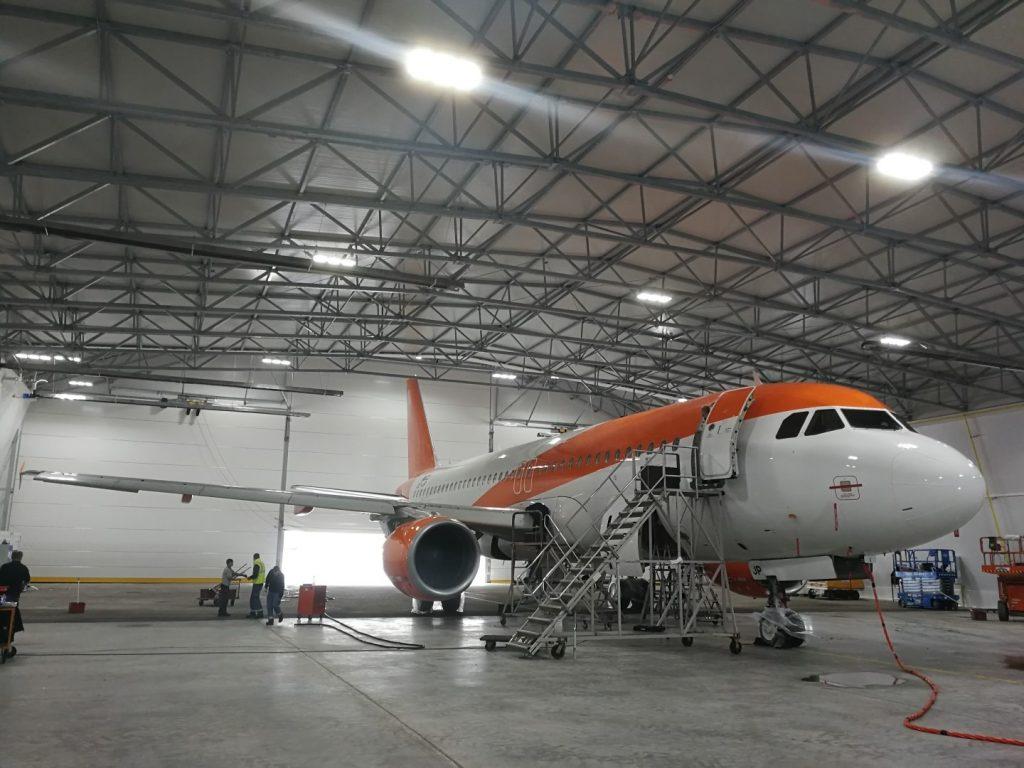 MRO Flugzeughangar