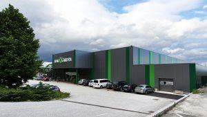 Eurogarden Gartencenter im Jahr 2020 nach abgeschlossener energetischer Sanierung