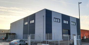 Produktionshalle Proeko Plastika