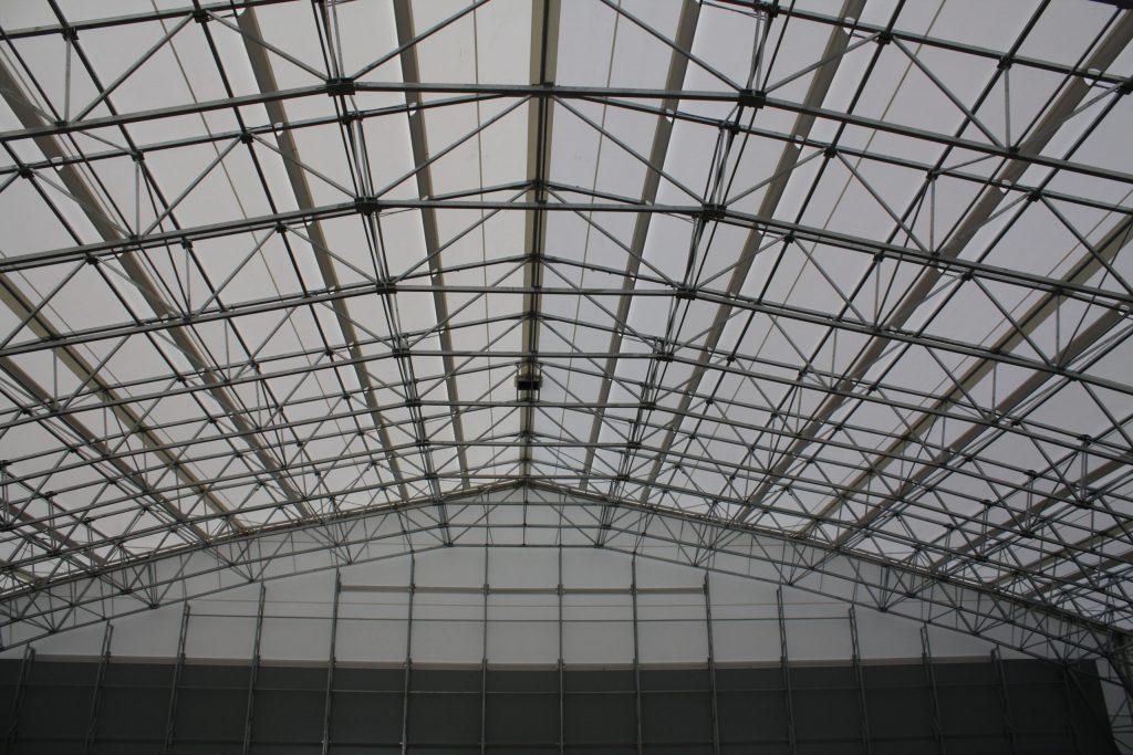 Zelthalle Konstruktion