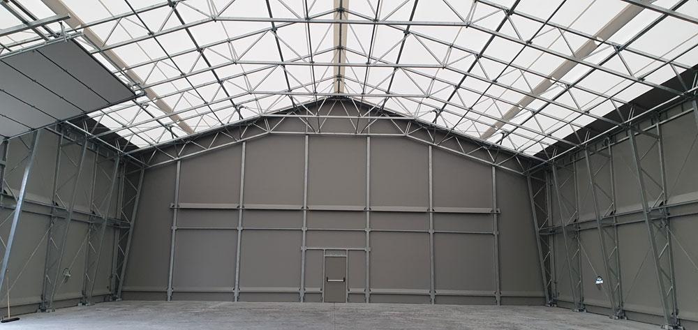 Lagerzelthalle LZS Menhofer