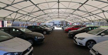 Covered parking Car dealership Auto Rau