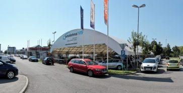 Covered parking Car dealership Avtotehna Vis