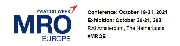 MRO Europe Aviation Week 2021
