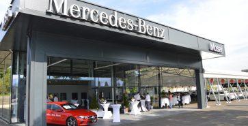 Car showroom Mercedes Moser