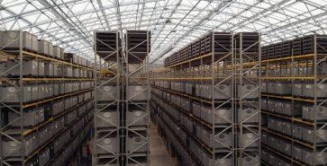 Hangar métallo-textile Hella