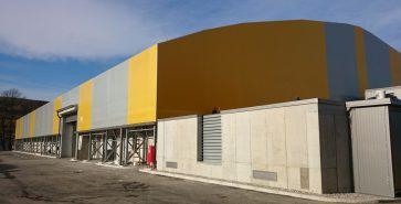 Hangar métallo-textile Bukovzlak