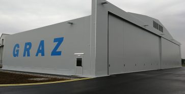 Hangar métallo-textile Graz