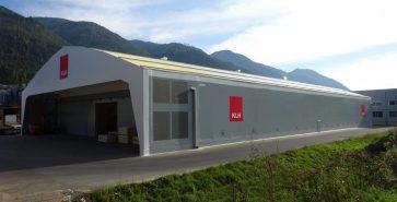 Hangar métallo-textile KLH
