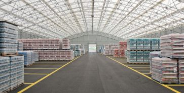 Hangar métallo-textile Voslauer