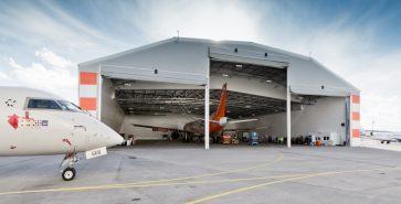 pvc halli MRO hangar Adria Tehnika