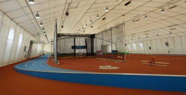 Zelthalle Leichtathletikhalle